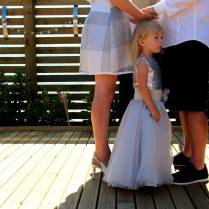 The littlest family member - Leeanne and John's wedding