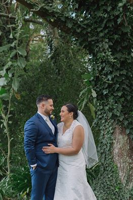 Claudia & Dennis' wedding at Markovina Vineyard Estate (photo by Jel Photography)