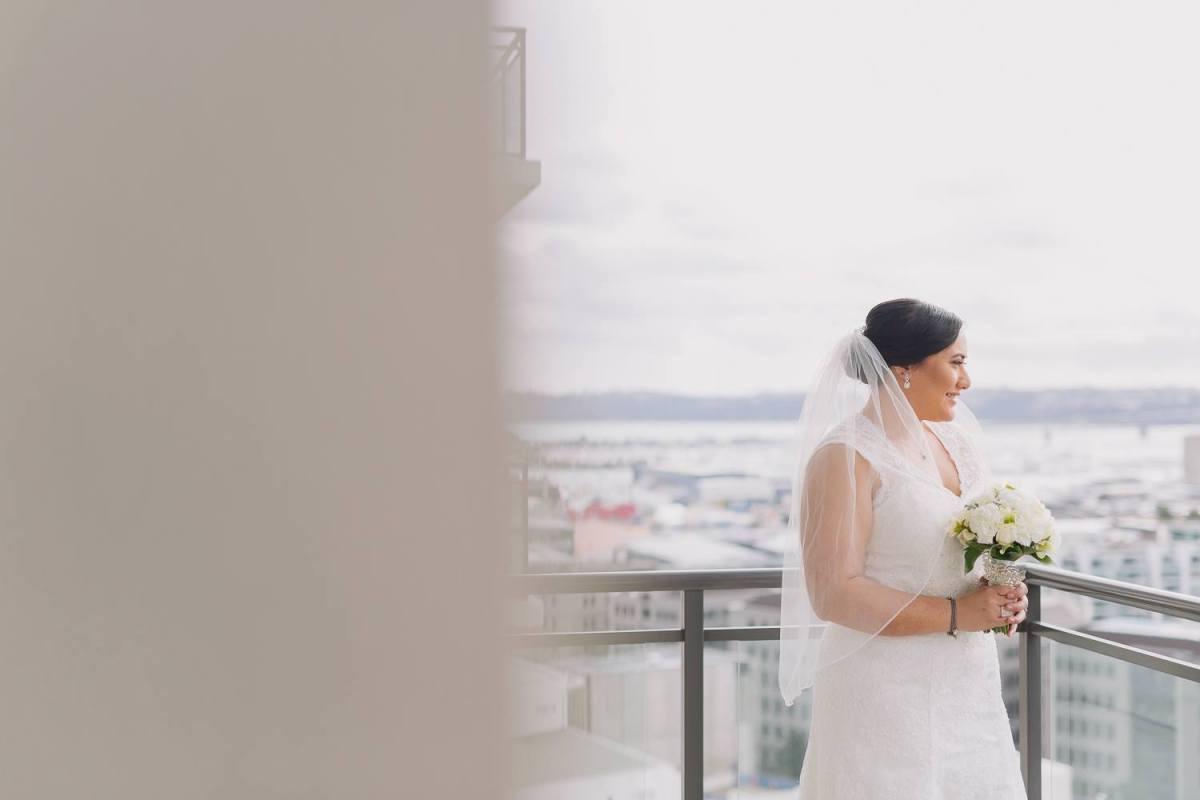 Claudia & Dennis' wedding at Markovina Vineyard Estate (photo by Jel Photography)