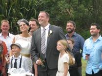 Julie & Cameron's wedding